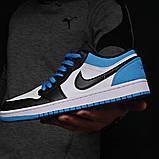 Кроссовки мужские 18251, Nike Jordan, белые [ 42 43 44 45 ] р.(42-26,7см), фото 8