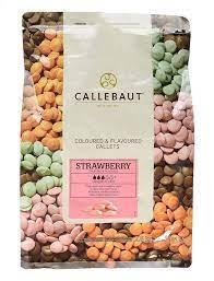 Шоколад со вкусом клубники Barry Callebaut 250г.