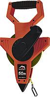 Рулетка измерительная Vulkan 50м геодезическая