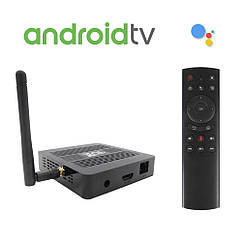 Ugoos TOX1 4/32 Android TV 9 + Аеропульт, Amlogic S905X3, Smart TV Box, Смарт ТВ Приставка (+ Налаштування)