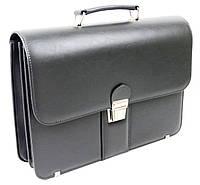 Деловой портфель из кожзама AMO Польша sst08 серый