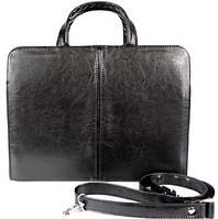 Жіночий портфель з еко шкіри A-art 26Tdw чорний, фото 1