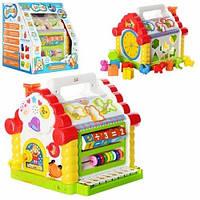 Развивающая игрушка-сортер Теремок 9196