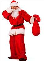 Карнавальные костюмы для взрослых - Дед Мороз, Санта-Клаус, Снегурочка