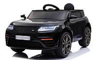 """Детский электромобиль Tilly """"Джип Range Rover"""" музыкальный T-7834 EVA BLACK с пультом управления"""