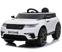 """Детский электромобиль Tilly """"Джип Range Rover"""" музыкальный T-7834 EVA WHITE с пультом управления"""