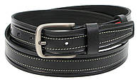 Мужской кожаный ремень для джинс Skipper 1298-38