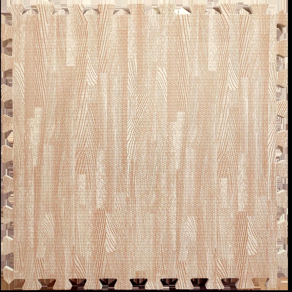 Мягкий пол-пазл, модульное напольное покрытие Розовое дерево 600*600*10мм, цена за 1шт, заказ от 6шт