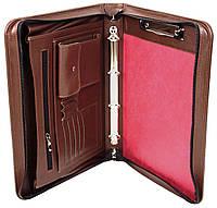 Шкіряна папка для документів Portfolio Port1001SB коричнева, фото 1