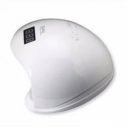 Светодиодная лампа для маникюра SUN 5 48W с дисплеем и сенсором, UV лампа