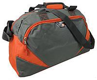 Спортивна сумка 24L Corvet SB1032-19 сірий з оранжевим, фото 1