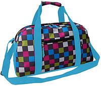 Спортивна сумка 23L Corvet різнобарвна клітка