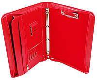 Папка ділова жіноча з еко шкіри AMO SSBW05 червона, фото 1
