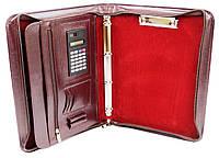 Папка женская для документов из кожзама AMO SSBW02 бордовый, фото 1