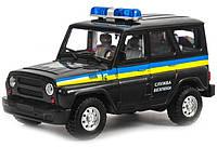 Машинка УАЗ Служба Охраны, фото 1