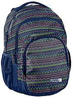 Рюкзак молодіжний з візерунком PASO 30L 18-2706PC, фото 1