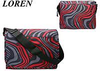 Сумка почтальонка с клапаном Loren TN-3029 947 разноцветная, фото 1