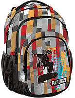 Міський рюкзак в клітку PASO 30L 18-2706KS, фото 1