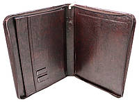 Папка для паперів з еко шкіри Exclusive 710500 коричнева, фото 1