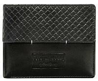 Горизонтальне шкіряне чоловіче портмоне ALWAYS WILD N951PVT black, фото 1