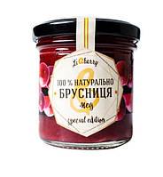 Брусничная паста с медом LiQberry 165 г