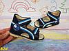 Босоножки открытые синие 20-25р, фото 4