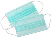 Медицинская маска защитная 3х слойная размер  50шт
