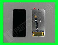 Дисплей Huawei Honor 10 Lite c сенсором, черный (оригинальные комплектующие)