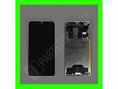 Дисплей Huawei Mate 20 з сенсором, чорний (оригінальні комплектуючі)