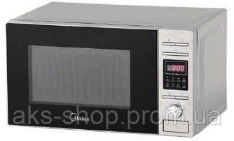 Микроволновая печь ГРИЛЬ MIDEA AG820CP2-S (800Вт, 20л, нерж, Электроника 8 прог, Smart Clean)