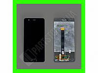 Дисплей Huawei P10 Plus с сенсором и кнопкой HOME, черный (оригинальные комплектующие)