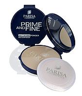 """Пудра компактна """"Parisa Cosmetics"""" PP-03, №12 Пісочно бежевий"""