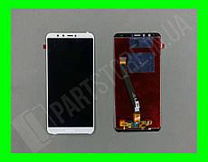 Дисплей Huawei Y9 2018 Enjoy 8 Plus с сенсором, белый (оригинальные комплектующие)