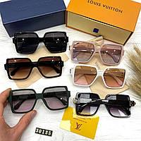 Модные женские солнцезащитные очки Louis Vuitton