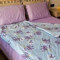 Комплект постельного белья KrisPol «Букет лаванды» 150x220 Сатин