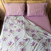 Комплект постельного белья KrisPol «Букет лаванды» 200x220 Сатин