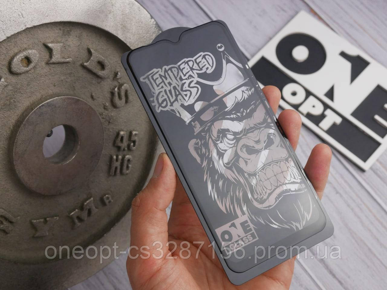 Захисне скло 3D OneGlass iPhone 7/8 White