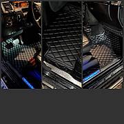 Комплект Ковриков 3D Audi Q8 + доп коврики Пвх