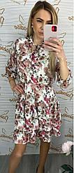 Платье цветочный принт 2&Z Italy 892616