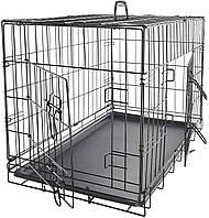 Клетка переноска для собак металлическая Onepet. Вольер. 60х46х51 см.
