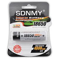 Аккумулятор SDNMY  Li-ion 18650 4800mAh с защитой, фото 1
