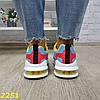 Кросівки на амортизаторах компенсаторах біло-блакитні, фото 5