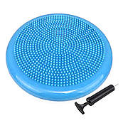 Балансировочная массажная подушка PowerPlay 4009 Синяя