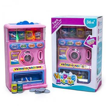 """Интерактивная игрушка """"Автомат с газировкой"""", розовый R111-1A, оснащен световыми и звуковыми эффектами"""