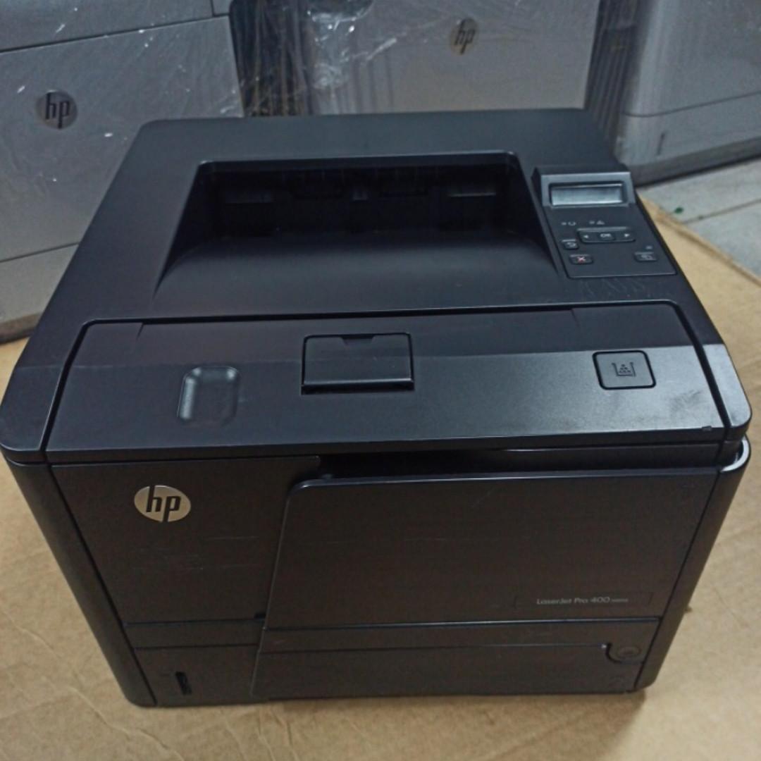 Принтер  HP LaserJet Pro 400 M401d  пробіг 38 тис. з Європи