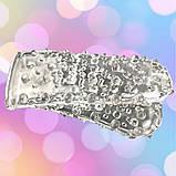 Напальчник силиконовый на 2 пальца для стимуляции клитора, фото 2