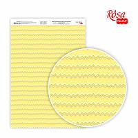 Папір дизайнерський односторонній Sweet Girl-4 21х29,7 см глянцевий 250 г/м2 ROSA TALENT
