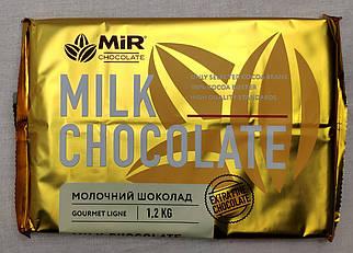 Молочный шоколад 28 % какао в плитке 1,2 кг, Мир