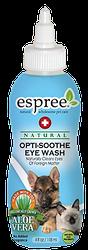 ESPREE Optisoothe Eye Wash  Смягчающее моющее средство и ополаскиватель для глаз из алоэ.118мл