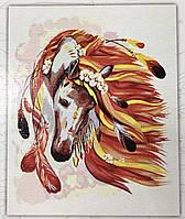 Картина за номерами на полотні 40*50 Кінь укр, DankoToys (10)